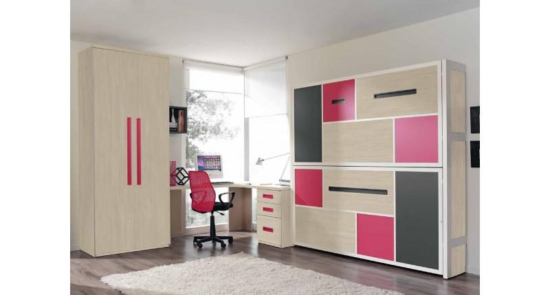 Комната для ребенка Стенка с убирающиеся кроватью