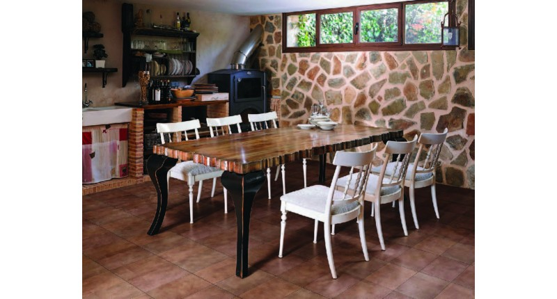 Стол и стулья Charol